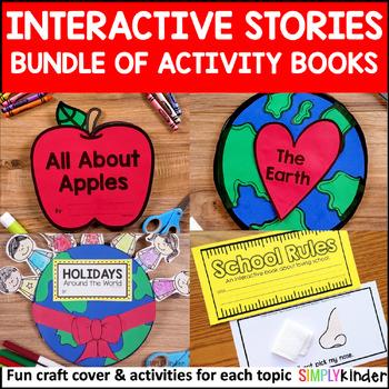 Interactive Stories with Craft Cover Bundle - Kindergarten, Preschool, First