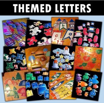 Themed Letters Bundle