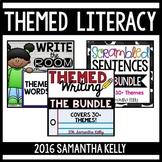 Themed Literacy Station Bundle