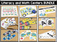 Kindergarten Themed Literacy and Math Centers for the Year Set 1!