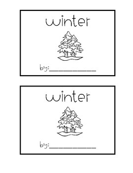 Mini Books- Seasons Edition