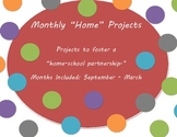 Themed Monthly Home Projects
