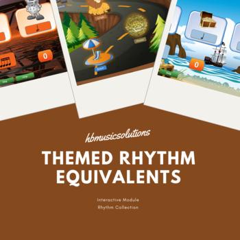 Themed Musical Rhythm Equivalents