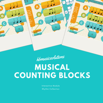 Musical Counting Blocks Music Interactive Module