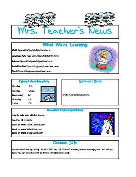 Themed Newsletter
