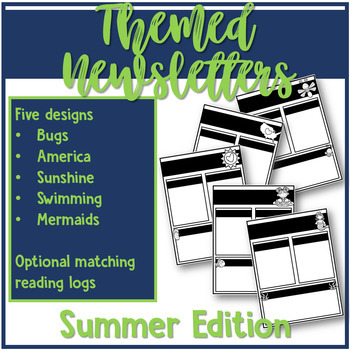 Themed Newsletter Bundle - 20+ seasonal designs