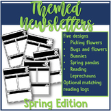 Themed Newsletters - Spring