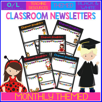 Themed Newsletters for the Year