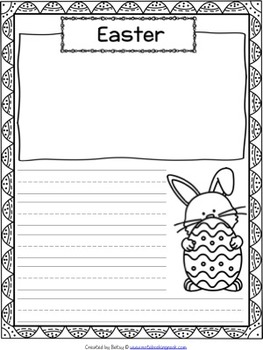 April Writing Pages