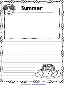 June Writing Pages