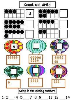 Themed Number Knowledge - Counting, Ordering, Recognising and Writing (Year 1/2)
