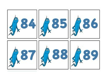 Themed Numbers 0-100