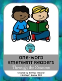 Themed One-Word Emergent Readers