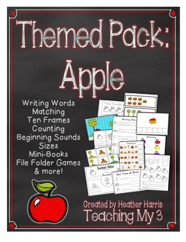 Themed Pack: Apples