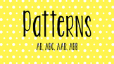 Themed Pattern Cards