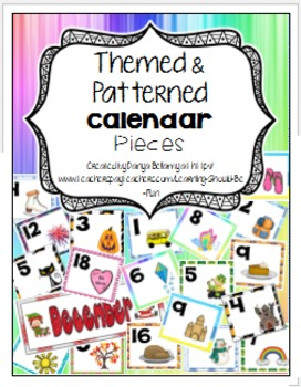 Themed & Patterned Calendar Pieces