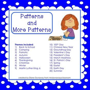 Themed Patterns (set of 20) Bundled