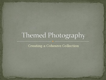 Themed Photography Projects