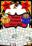 Themed Portable Word Walls