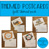 Themed Postcards - Fall Themed Pack