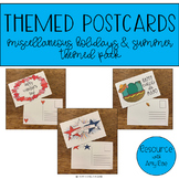 Themed Postcards - Miscellaneous Holidays and Summer Themed Pack