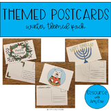 Themed Postcards - Winter Themed Pack