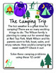 Themed Word Problem Cards - THE CAMPING TRIP - Grade 5/6