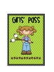 5 X 7 Themed Restroom Passes
