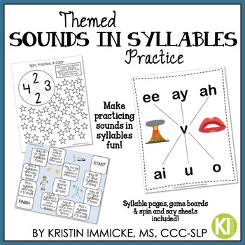 Themed Sounds in Syllables Articulation Practice