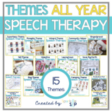 Themed Speech Therapy Bundle:  Multiple Targets for Mixed