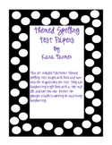 Themed Spelling Test Papers- 10 Questions