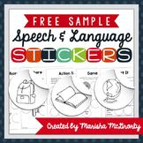 Interactive Speech & Language Stickers