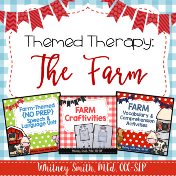 Themed Therapy Bundle: The Farm