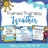 Themed Therapy Bundle: Weather and Clothing