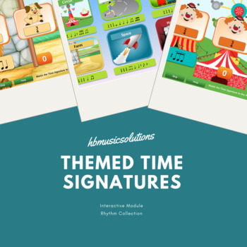 Themed Time Signatures - including Halloween