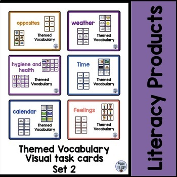 Themed Vocabulary bundle set 2