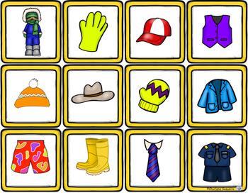 Themed Vocabulary - clothing
