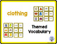 Themed Vocabulary combo pack - clothing