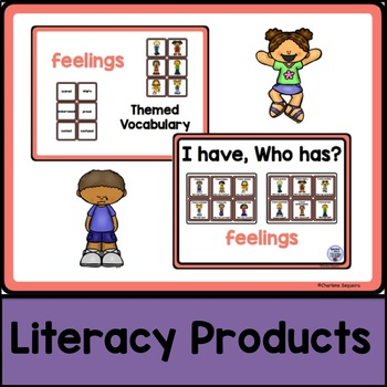 Themed Vocabulary combo pack - feelings