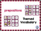Themed Vocabulary combo pack - prepositions