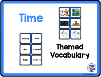 Themed Vocabulary combo pack - time