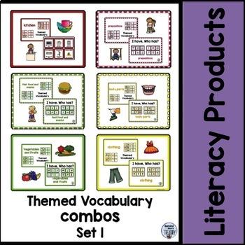 Themed Vocabulary combos - Bundle set 1