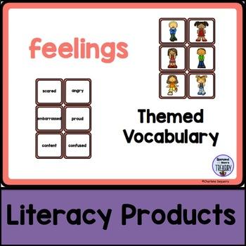 Themed Vocabulary - feelings
