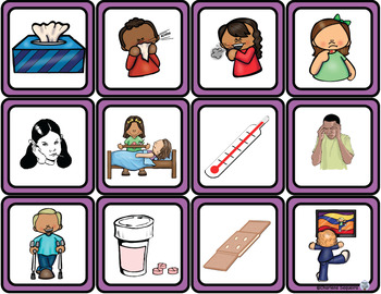 Themed Vocabulary - hygiene and health