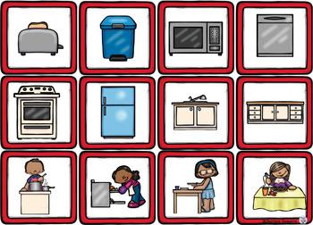Themed Vocabulary - kitchen