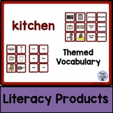Themed Vocabulary - kitchen