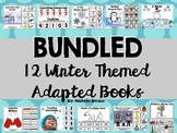 Themed Winter Adapted Book BUNDLE January (Autism, Special Ed, Early Childhood)