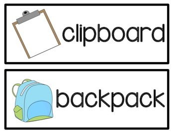"""Themed """"Write Around The Room"""" Cards {Back To School}"""