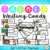 Writing Cards Set #1 (Camping, Pirates, Wild West, Hollywo