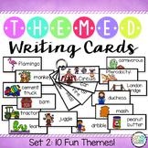 Writing Cards Set #2 (Zoo, Construction, Basketball, Circu
